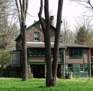 The house I grew up in is still the home of the my mother's business: The Virginia Kidd Agency
