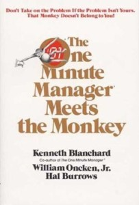 Book cover: The One Minute Manager Meets the Monkey