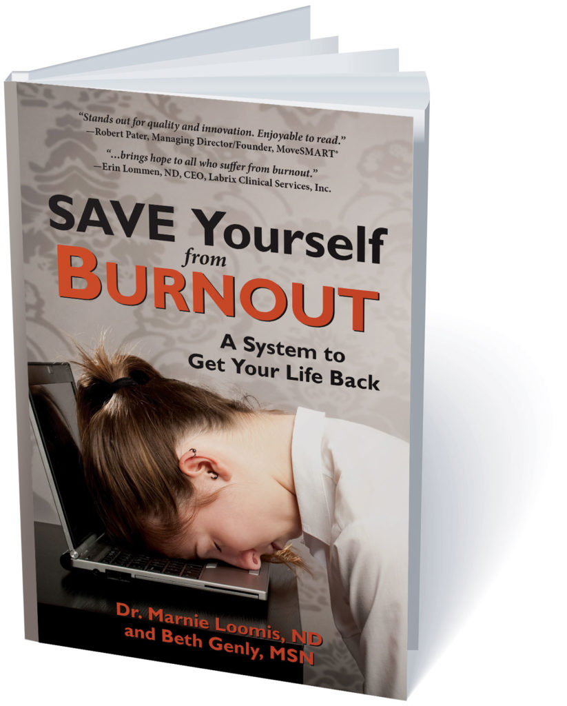 Save Yourself From Burnout, the book